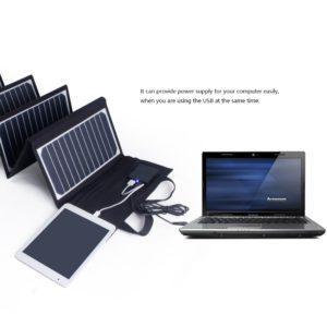 Leichter Solarkoffer